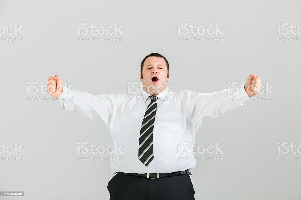 Victory is mine! stock photo
