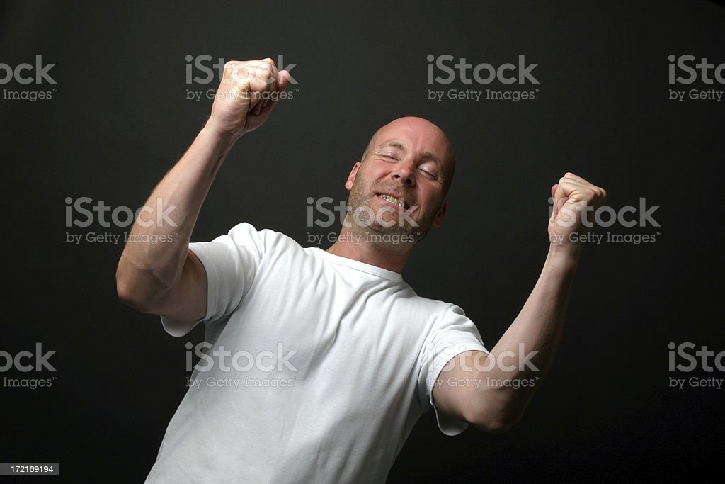 Victory! stock photo