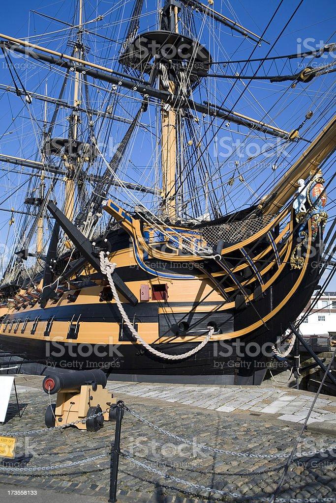 HMS Victory royalty-free stock photo