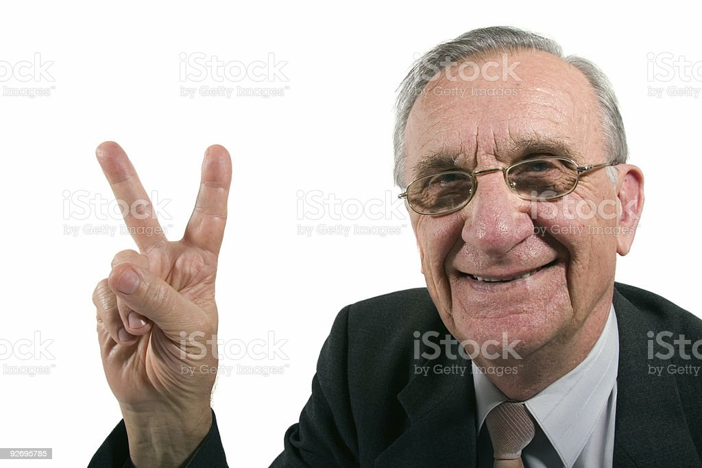 Victory! royalty-free stock photo