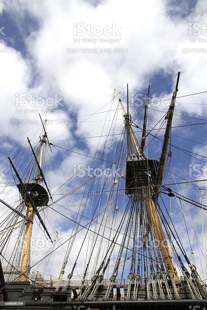 Victory Rigging stock photo