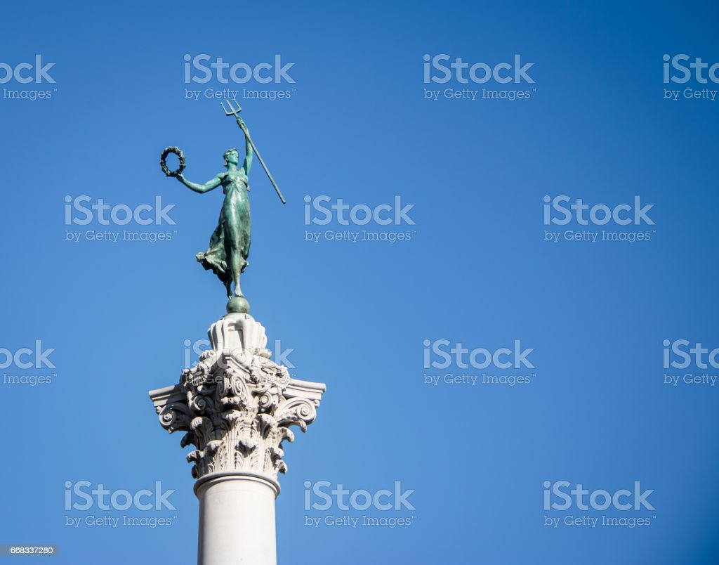Victory Statue in Union Square - San Francisco, California, USA stock photo