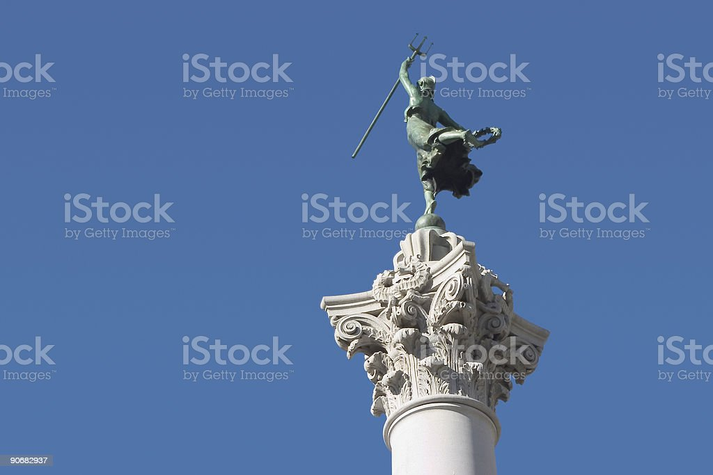 Victory Statue #3 royalty-free stock photo
