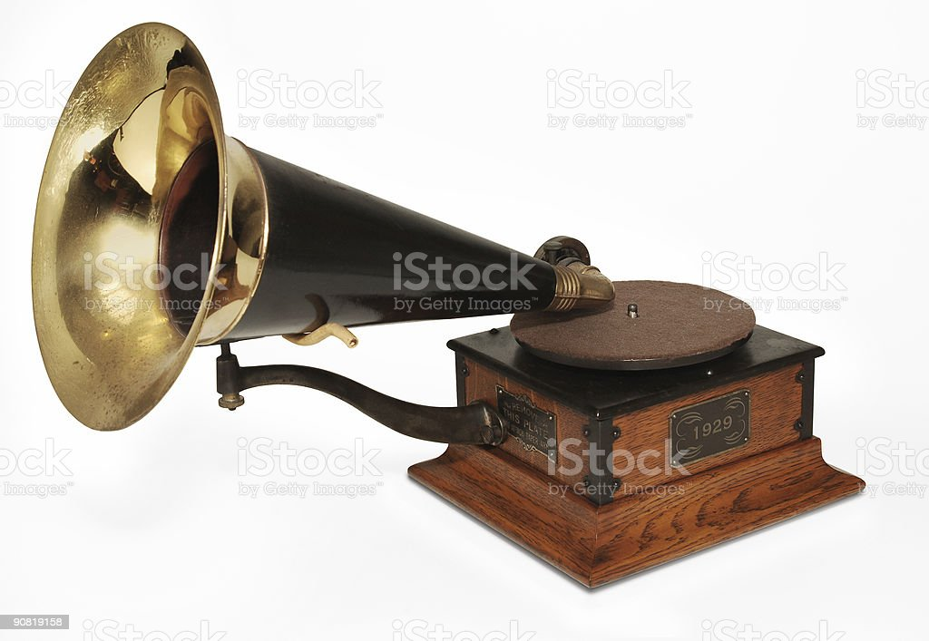 victrola phonograph stock photo
