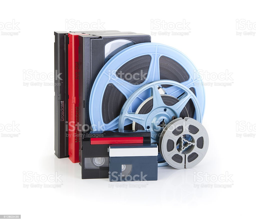 Video and Film stock photo