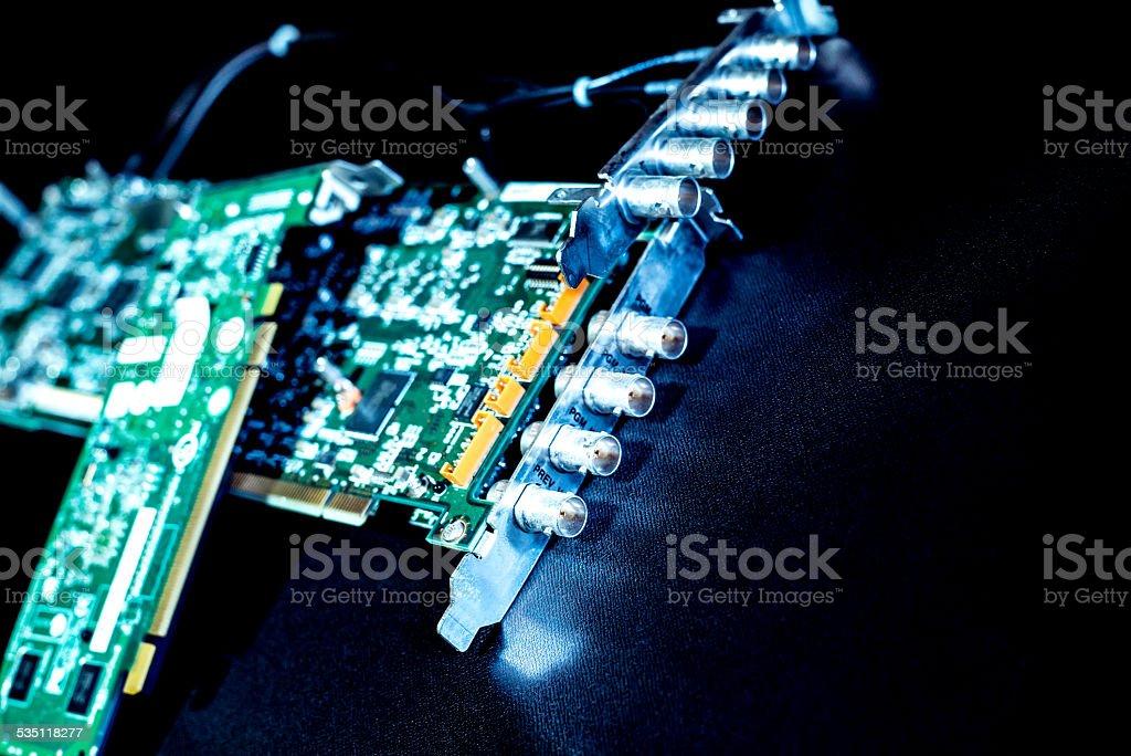 Video board stock photo