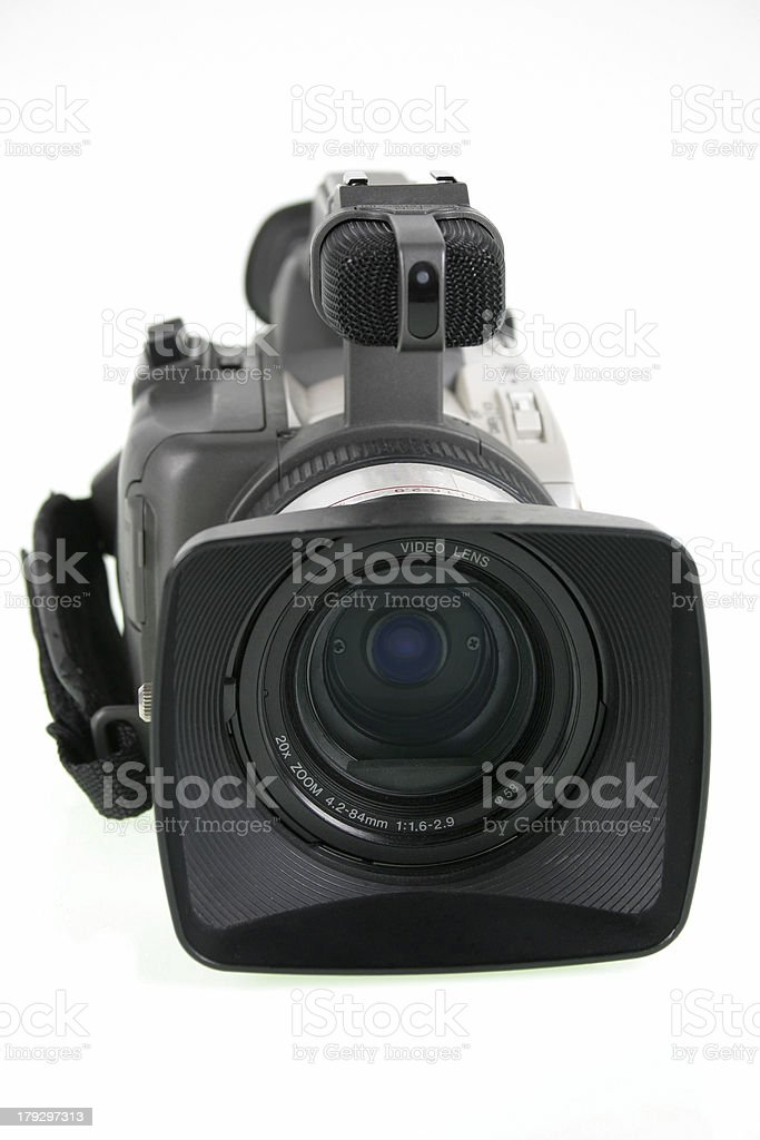 Video camera royalty-free stock photo