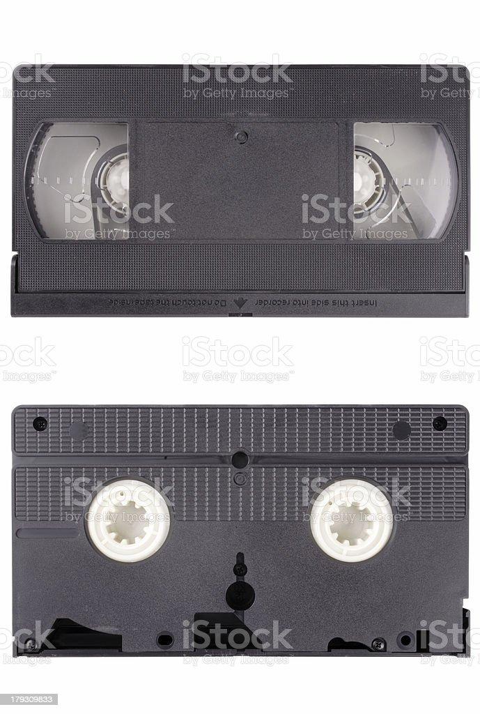 Video cassete tape royalty-free stock photo