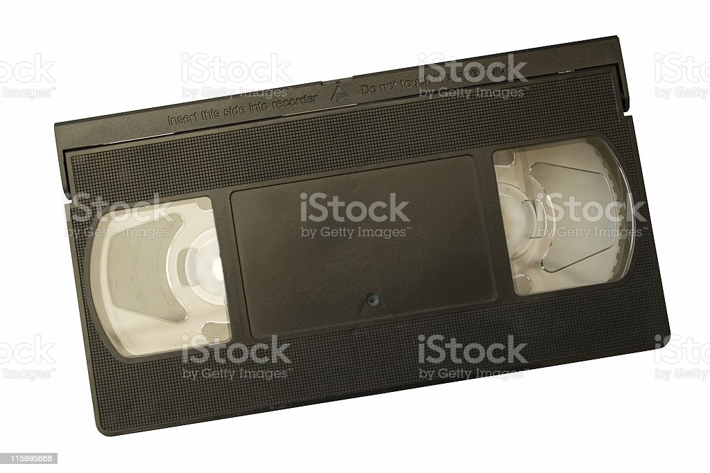 Video Cassette royalty-free stock photo