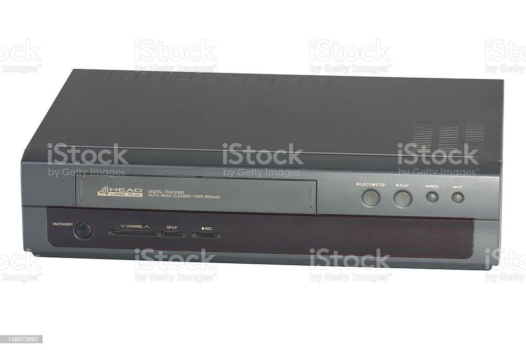 Video cassette recorder stock photo