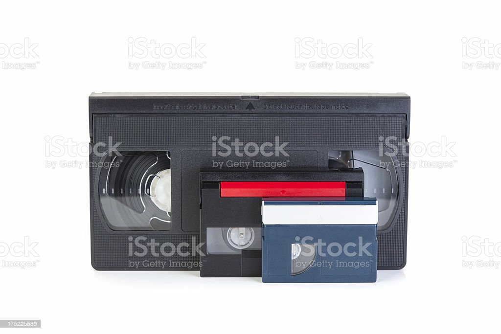 Video Cassettes royalty-free stock photo
