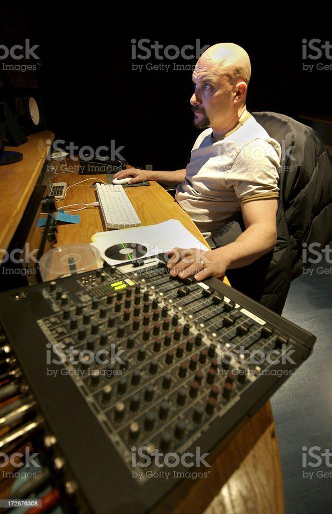 Video Editor stock photo