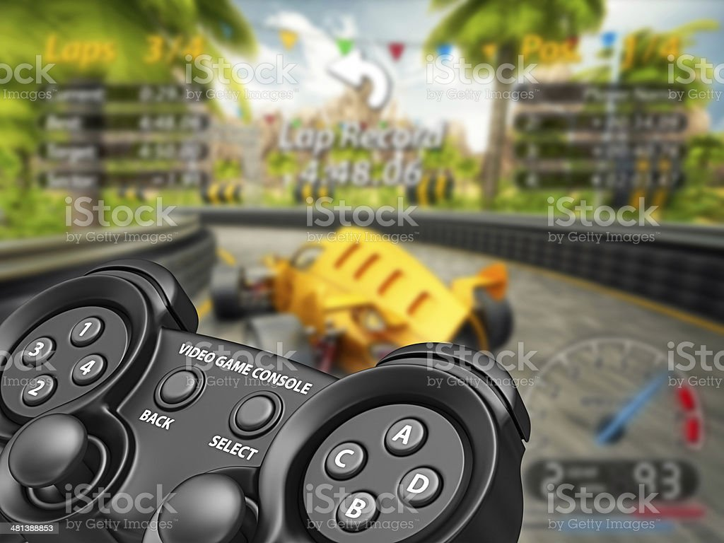 video game stock photo