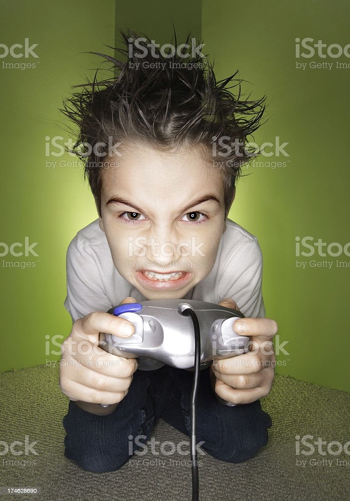 Video Game Time royalty-free stock photo