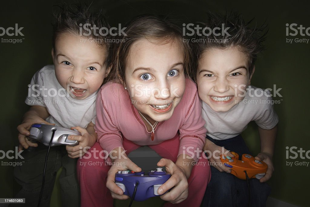 Video Game Time stock photo