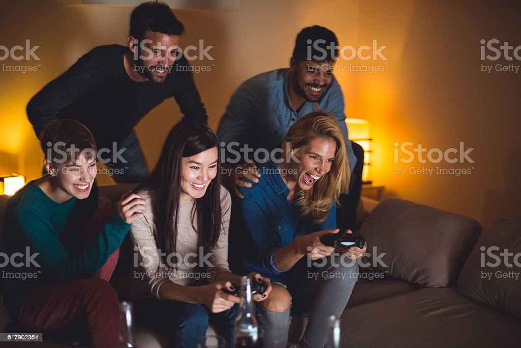Video games are always fun stock photo