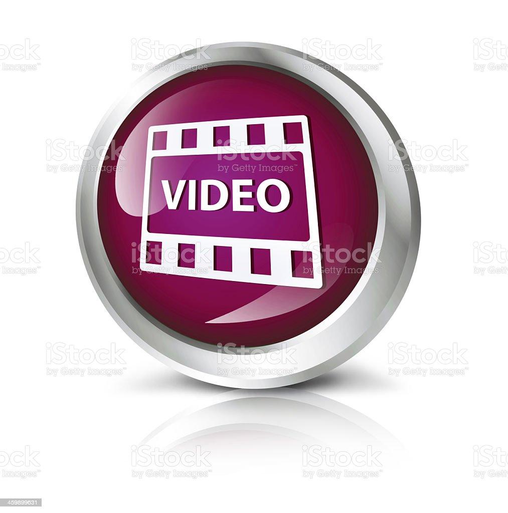 Video icon royalty-free stock photo
