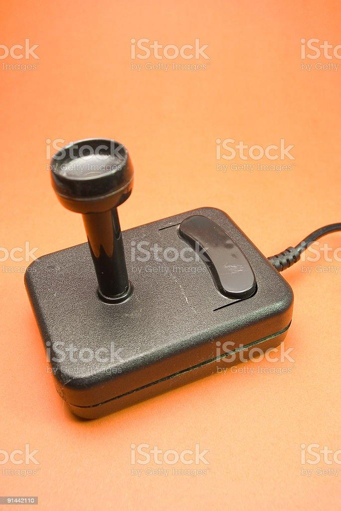 Video joystick royalty-free stock photo