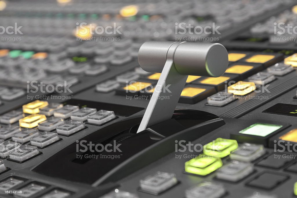 Video mix stock photo