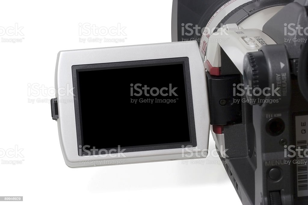 Video Monitor royalty-free stock photo