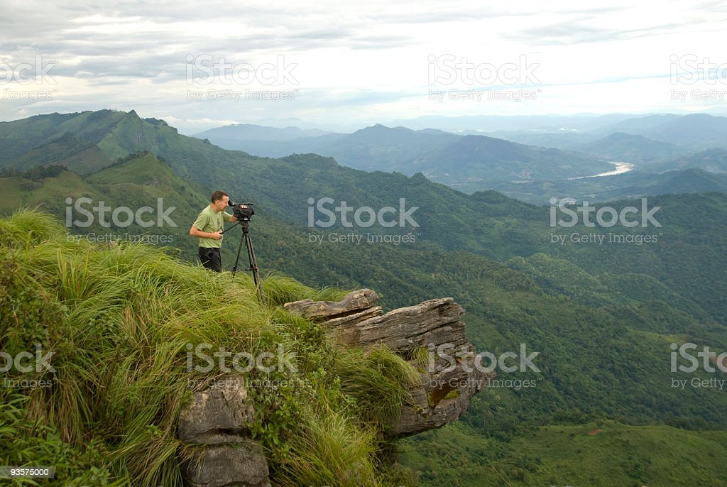 Video of landscape 01 royalty-free stock photo