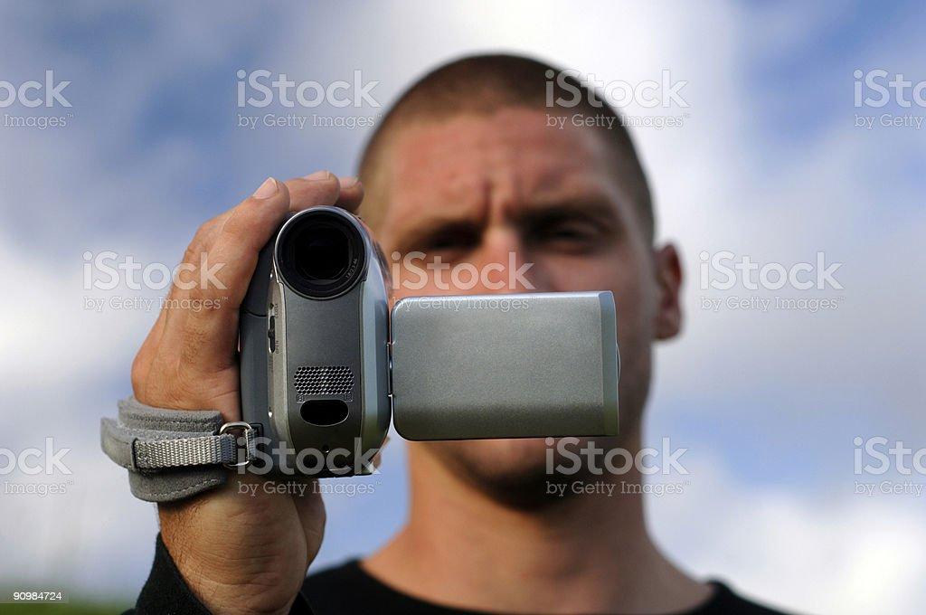 video paparazzi stock photo