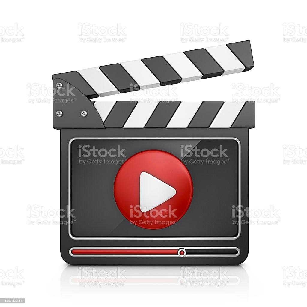 video player stock photo