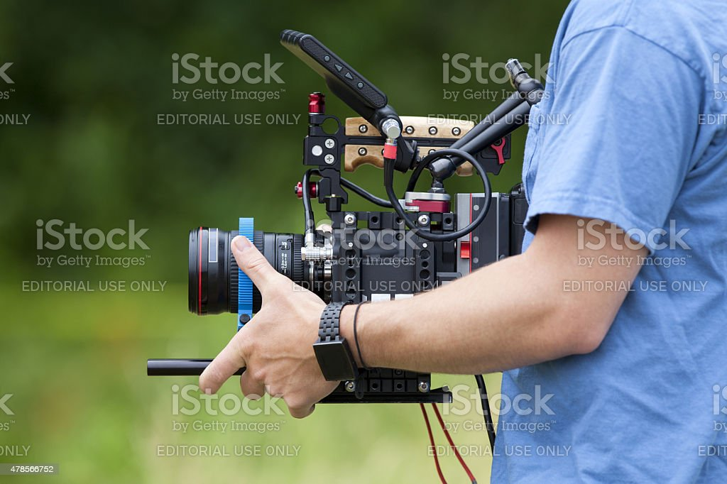 Video Production stock photo