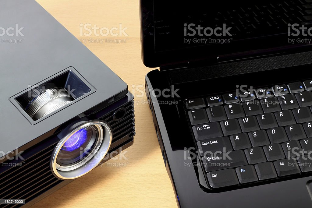 video projection royalty-free stock photo