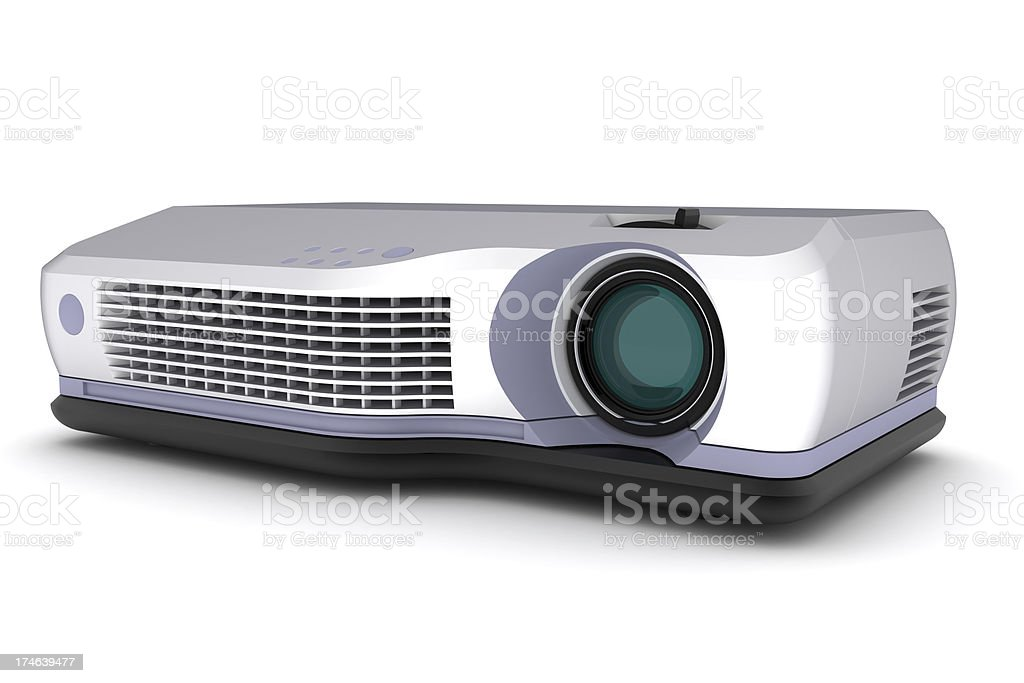 Video Projector royalty-free stock photo