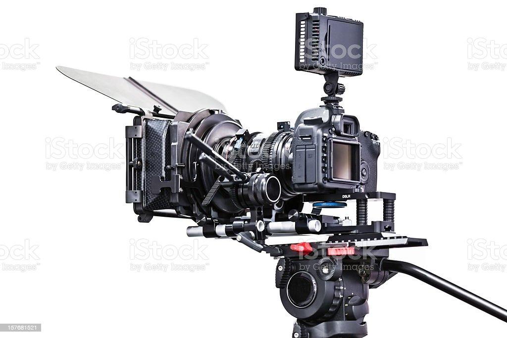 HD DSLR video set royalty-free stock photo
