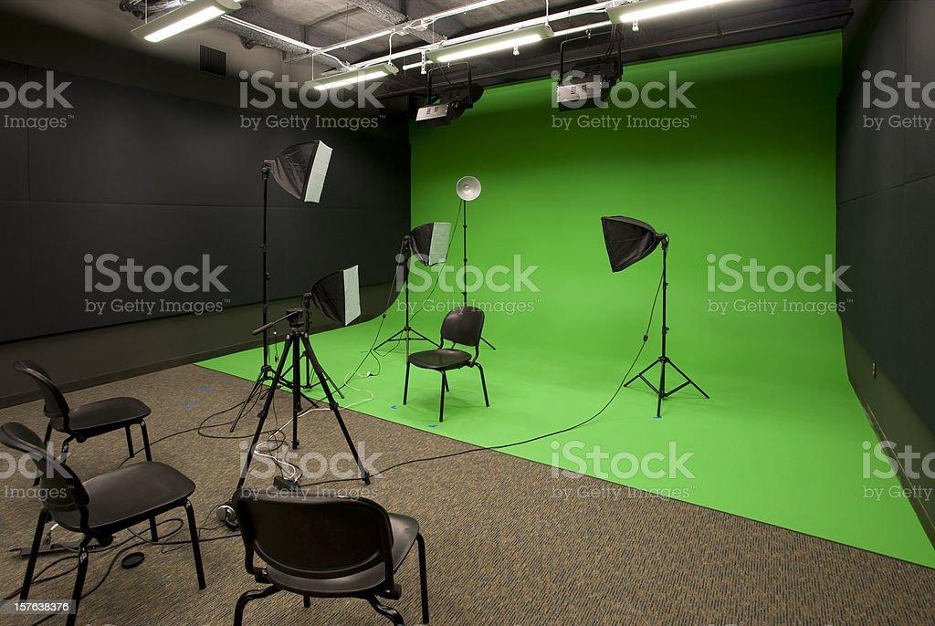 Video Studio stock photo