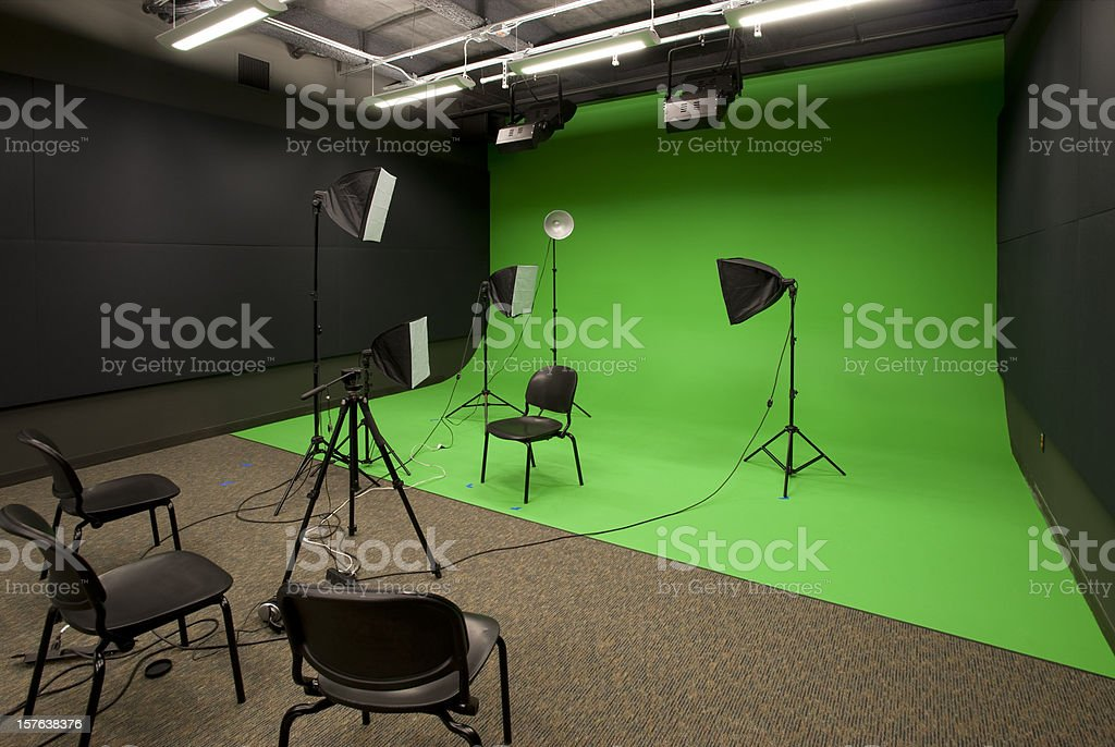 Video Studio stock photo