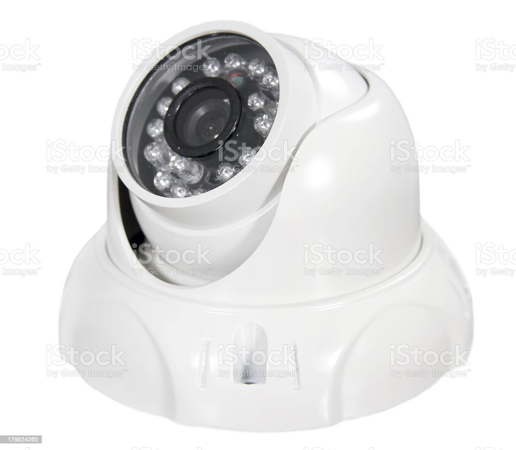 video surveillance camera royalty-free stock photo