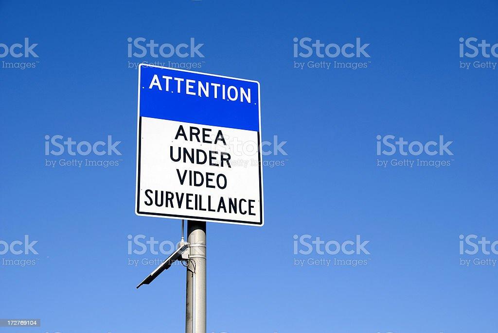 Video Surveillance royalty-free stock photo
