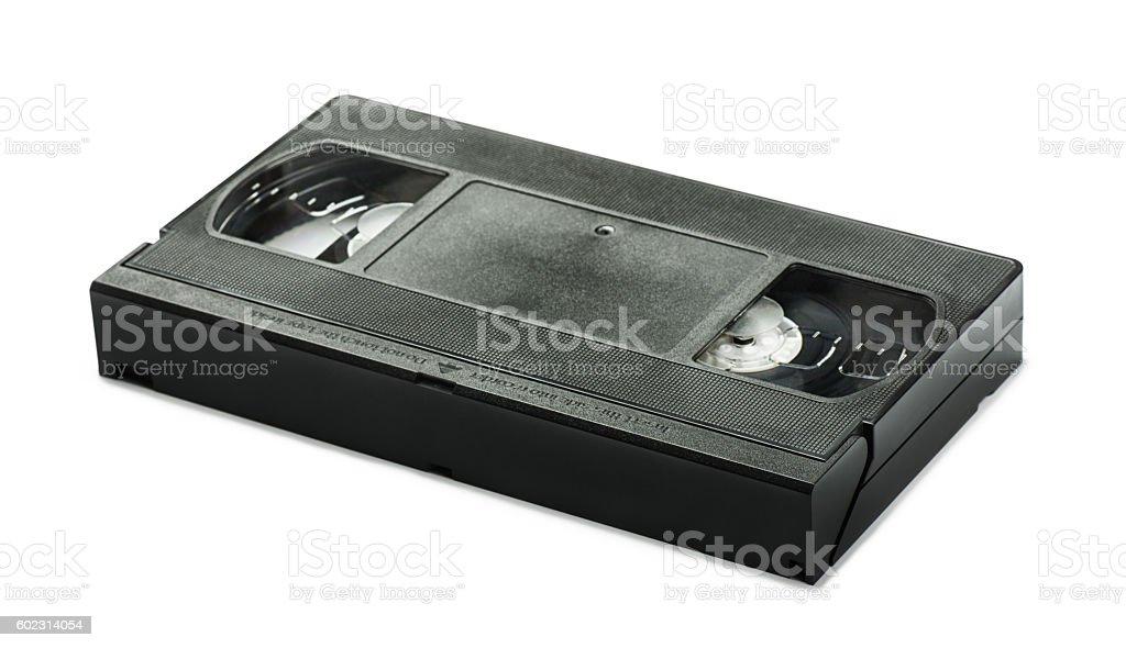 VHS video tape cassette stock photo