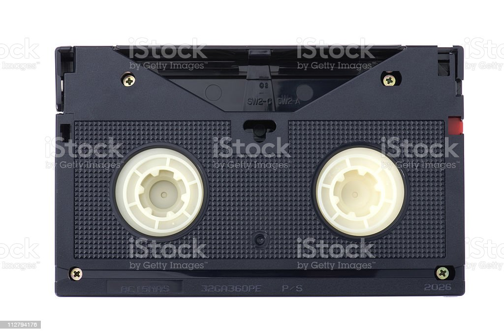 video tape stock photo
