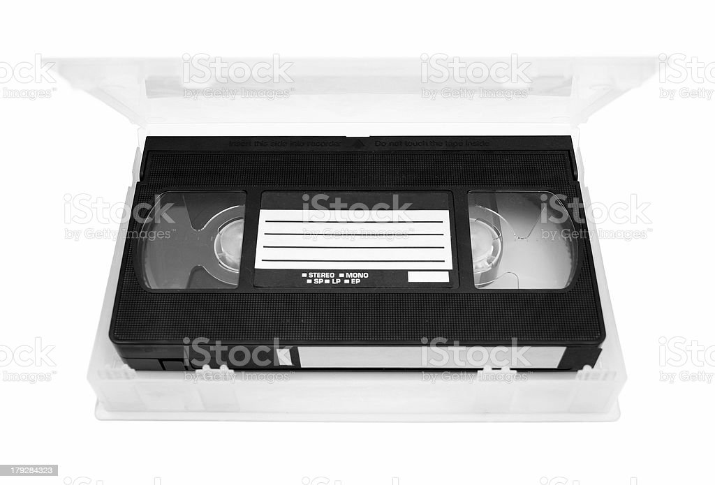 Video tape royalty-free stock photo