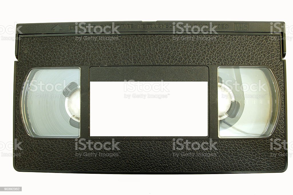 video tape #1 royalty-free stock photo