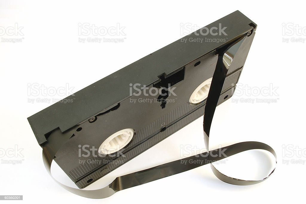 video tape #3 royalty-free stock photo