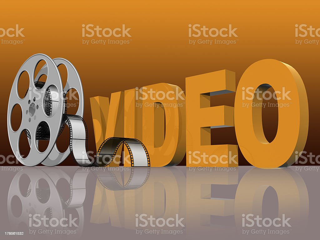 video technology stock photo