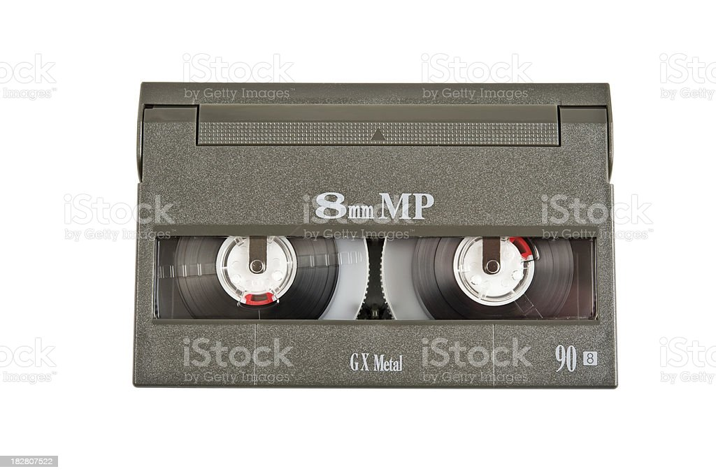 Video8 cassette stock photo