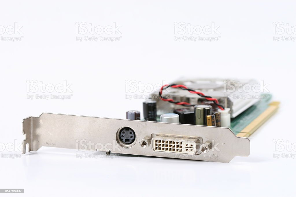 videocard royalty-free stock photo