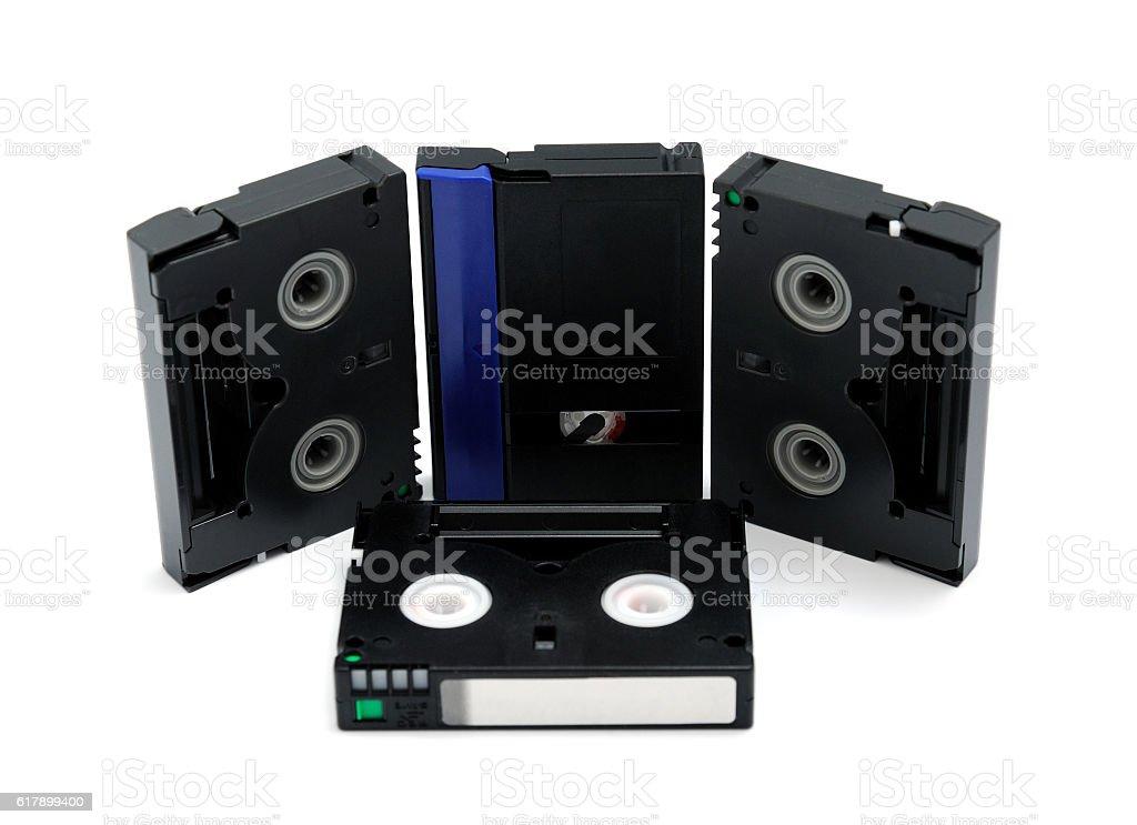 Videocassette stock photo