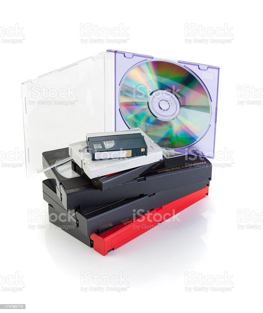 Video/DVD Conversion royalty-free stock photo