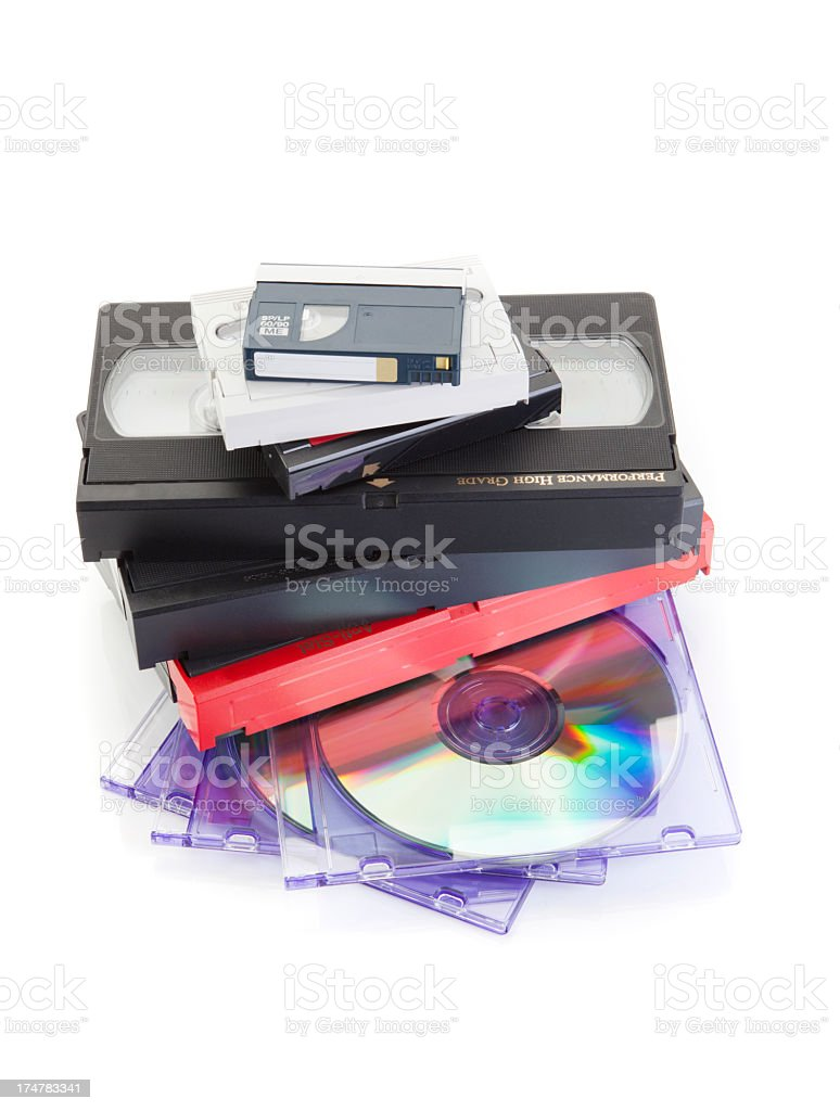 Video/DVD Conversion stock photo