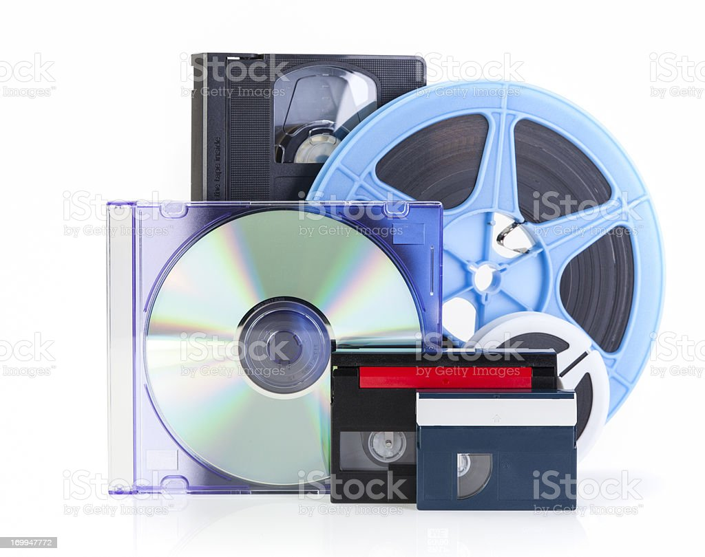 Video/DVD Transfer stock photo