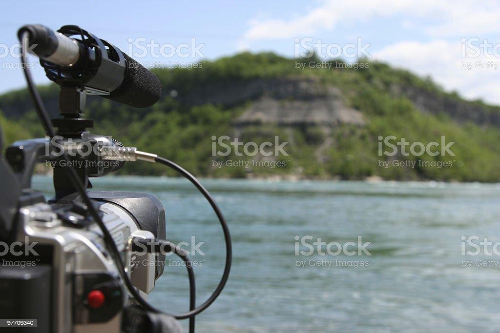 Videography stock photo