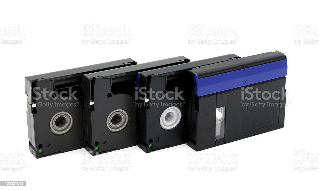Videocassette royalty-free stock photo