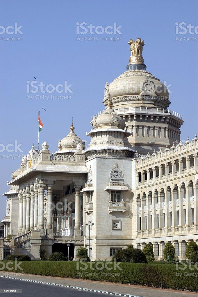 Vidhan Soudha, Bangalore royalty-free stock photo